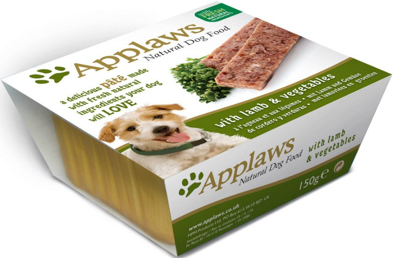 Applaws Dog Paté Lamb with vegetables - 150 gr. (7 verp.)