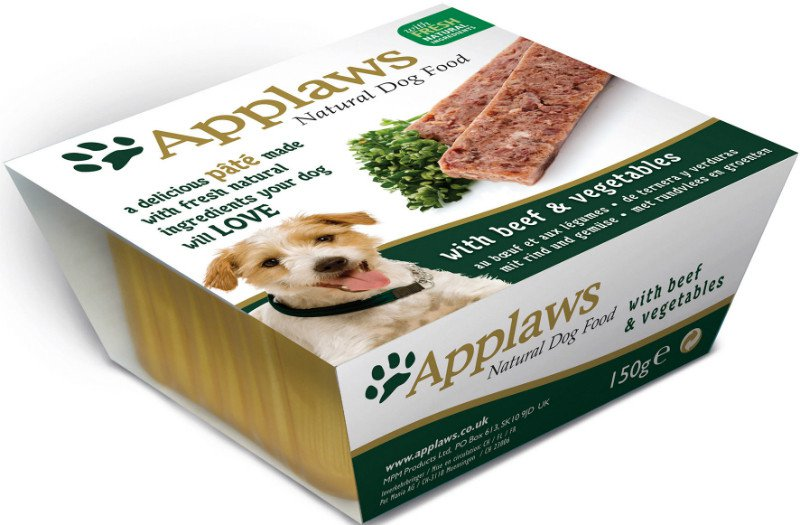 Applaws Dog Paté Beef with vegetables - 150 gr. (7 verp.)