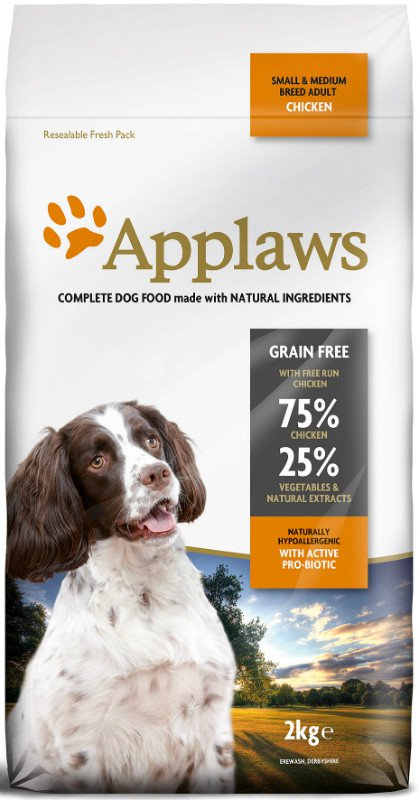 Applaws brok Chicken Small & Medium Adult. - 2 kg.