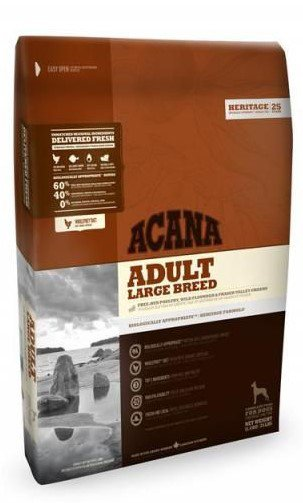 Acana Heritage Adult Large Breed   - 11,4 kg.