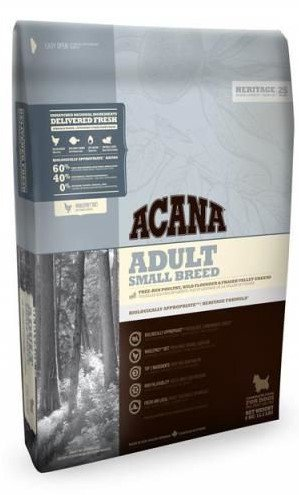 Acana Heritage Adult Small Breed   - 2 kg.