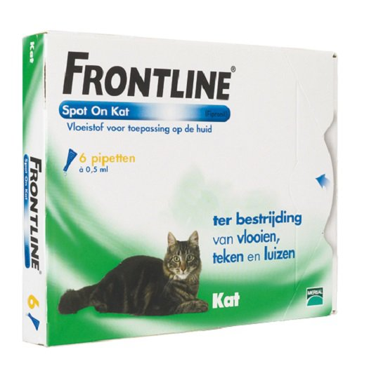 Frontline spot on kat 6 Pipet