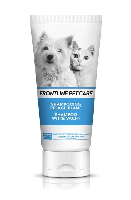 Frontline Pet care Shampoo Witte Vacht - 200 ml.