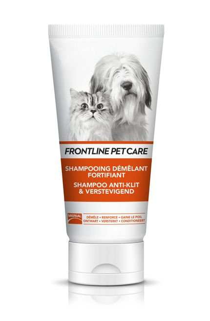 Frontline Pet care Shampoo Anti-Klit & Verstevigend - 200 ml.
