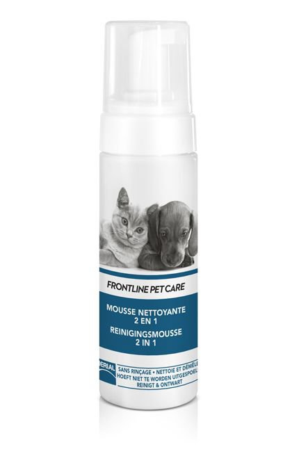 Frontline Pet care Reinigingsmouse 2-1 - 150 ml.