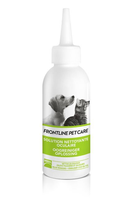 Frontline Pet care Oogreiniger Oplossing - 125 ml.