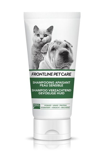 Frontline Pet care Shampoo Verzachtend Gev.Huid - 200 ml.