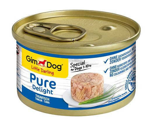 GimDog Pure Delight Tonijn - 12x85 gr.