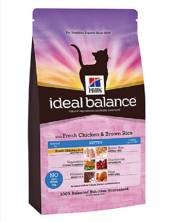 Hills Feline Ideal Balance Kitten - 2 kg.