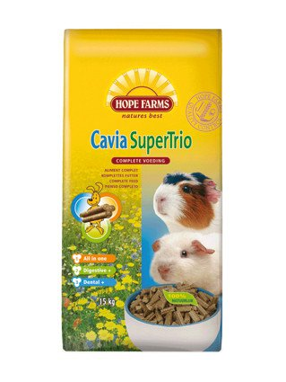 Hope Farms Cavia Supertrio - 15 kg.