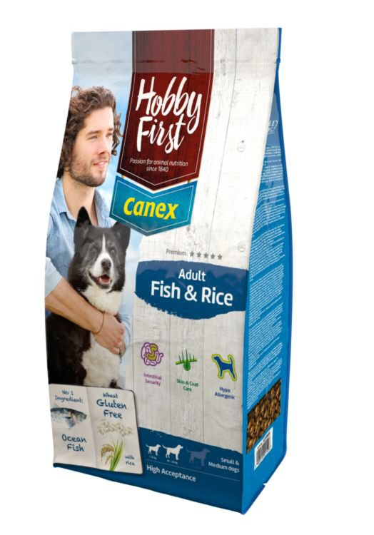 HobbyFirst Canex Adult Fish & Rice - 3 kg.