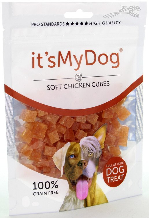 it's My Dog Chicken soft cubes - 85 gr.