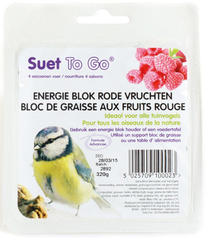Suet To Go Vetblok Berry Feast - 320 gr.