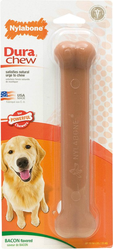 Nylabone Bone Giant Bacon - tot 22 kg