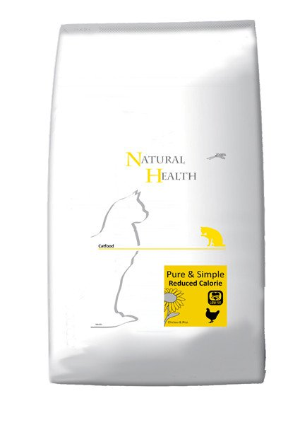 Natural Health Cat Reduced - 7,5 kg.