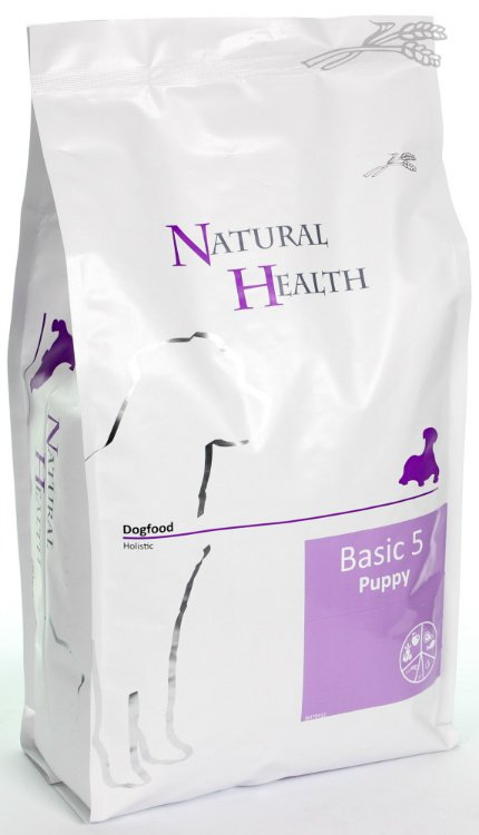 Natural Health Dog Basic Five Puppy - 3 kg.