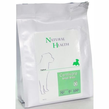 Natural Health Dog Carnivore Small Bite  - 400 gr.