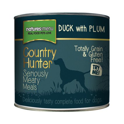 Natures Menu Dog Country Hunter Duck - 600 gr. (6 verp.)