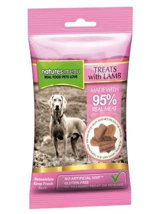 Natures Menu Dog Treats Chicken & Lamb - 60 gr. (12 verp.)