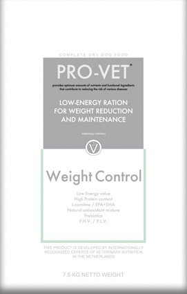 Pro-Vet Dog Weight Control - 7,5 kg.