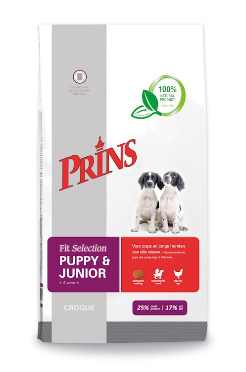 Prins Fit Selection Puppy & Junior - 10 kg.
