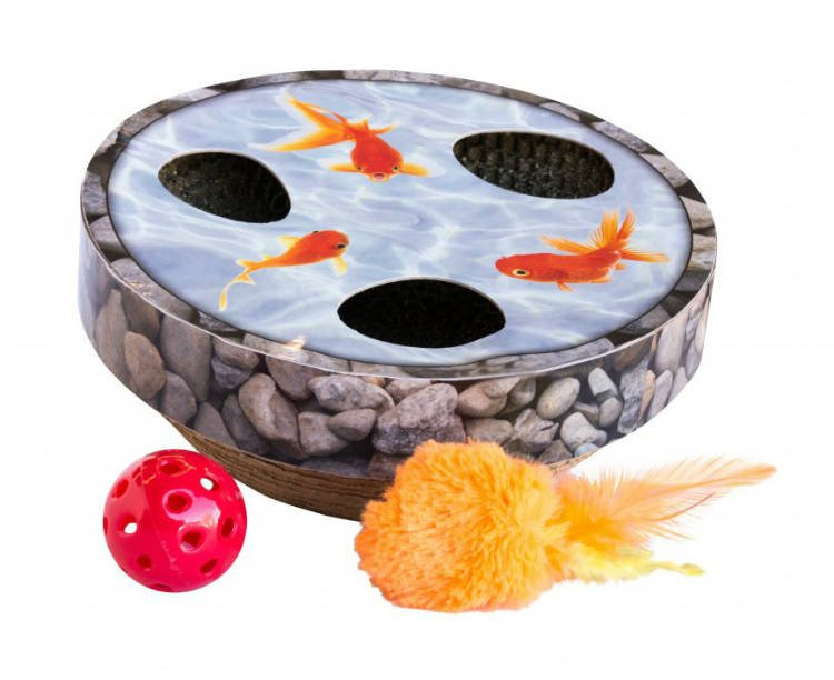 Petstages Hide & Seek Wobble Pond Mlt