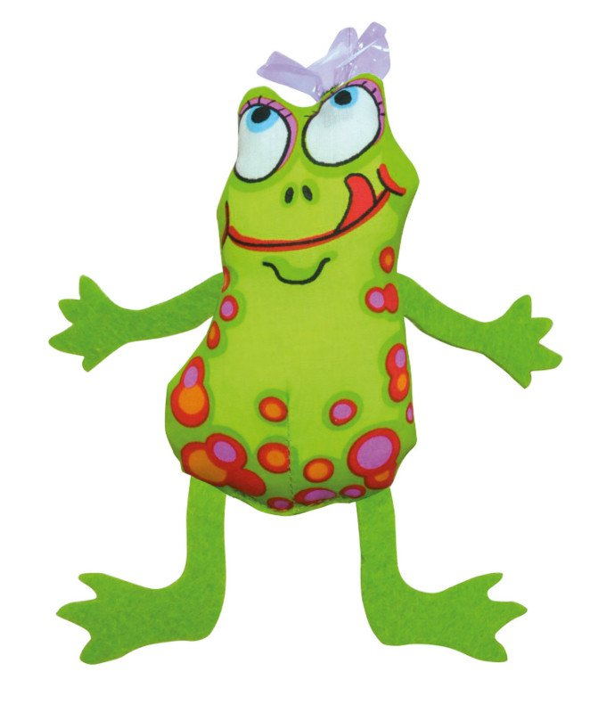 Petstages Madcap Frog and Fly - 6x13 cm