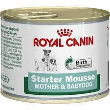Royal Canin Dog Blik Starter Mousse - 12x195 gr.