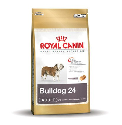 Royal Canin Bulldog 24 Adult - 3 kg.