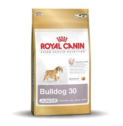 Royal Canin Bulldog 30 Junior - 3 kg.