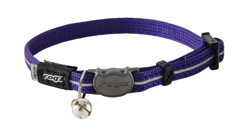 Rogz AlleyCat Halsband XS Purple - 11mm