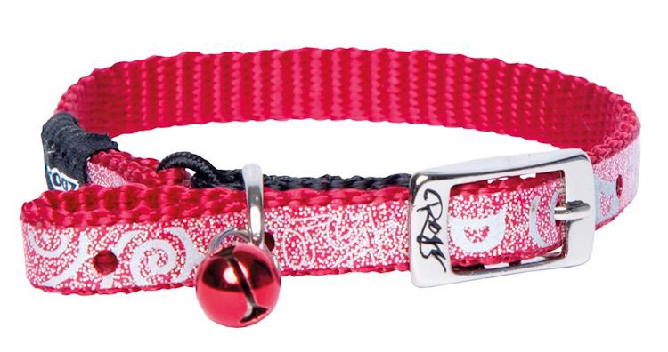 Rogz Sparklecat Dark Red - 8 mm |14,6-21 cm