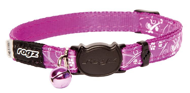 Rogz Silkycat Purple Filigree - 11mm - 20-31 cm.