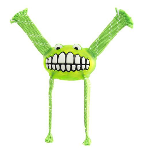 Rogz Grinz Flossy Medium Lime - 23cm Medium