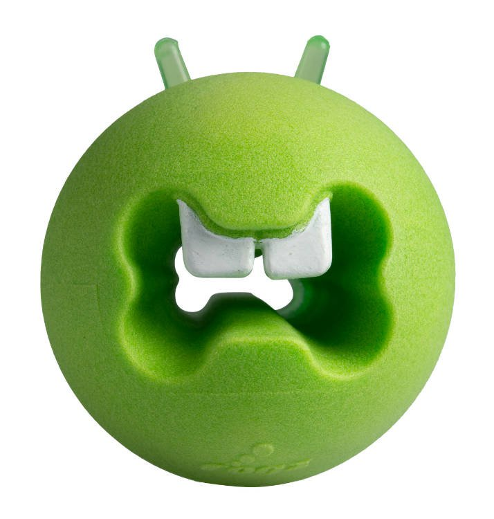 Rogz Fred Treat Ball Lime - Medium