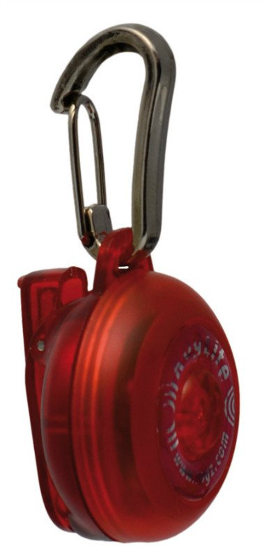 Rogz RogLite Lampje Red - 31mm