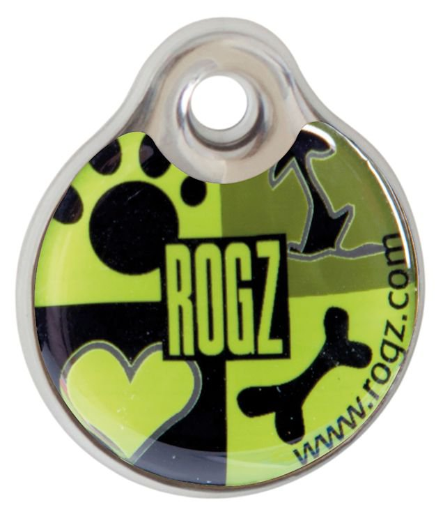 RogZ ID Tag Small Lime Juice