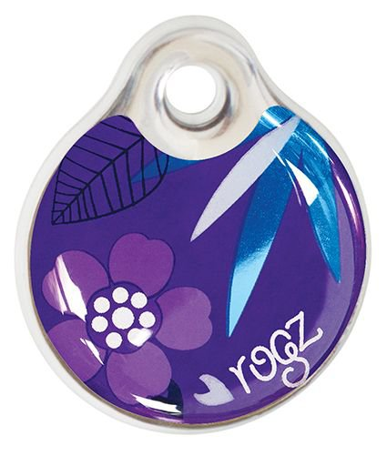 RogZ ID Tag Large Purple Forest