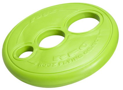 Rogz Flying Object Lime - 23 cm rond/ 4 cm dik