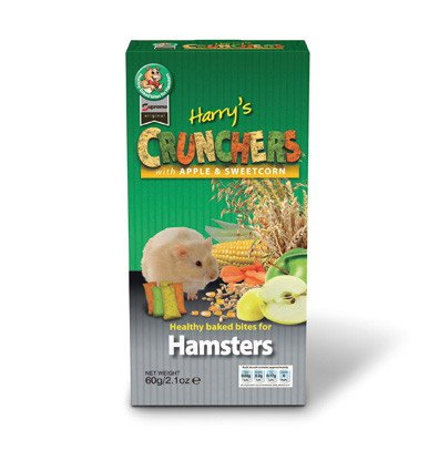 Supreme Harry Apple & Sweetcorn Chrunchers - 120 gr. (8 verp.)