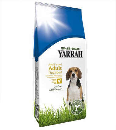 Yarrah Hond Small Breed Adult - 2 kg.