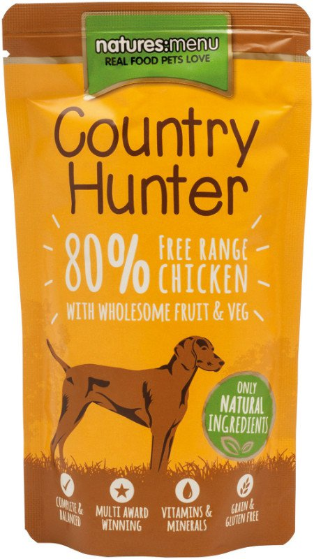 Natures Menu Dog Country Hunter Pouch Chicken - 150 gr. (6 verp.)