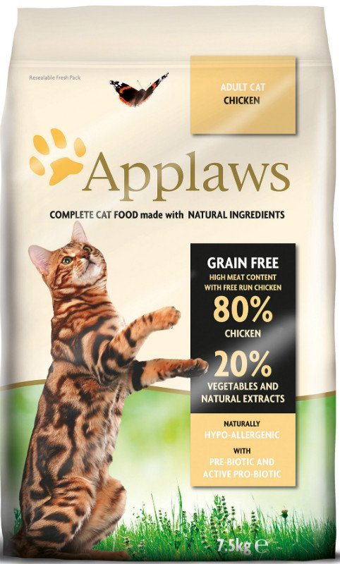Applaws Chicken adult Cat Brokjes - 400 gr.