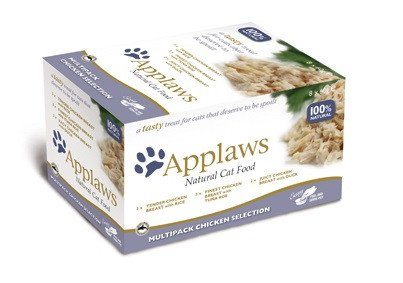 Applaws Cat Pots Multi Pack Chicken - 8x60 gr.