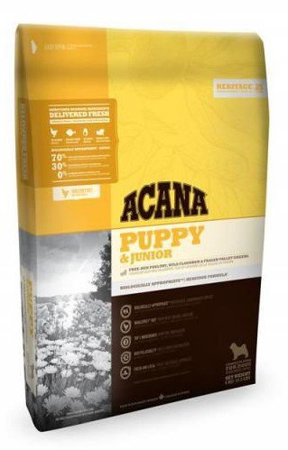 Acana Heritage Puppy & Junior - 17 kg.