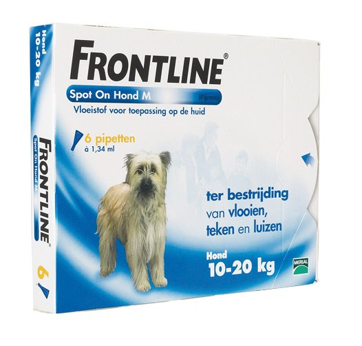 Frontline spot on dog M 6 Pipet