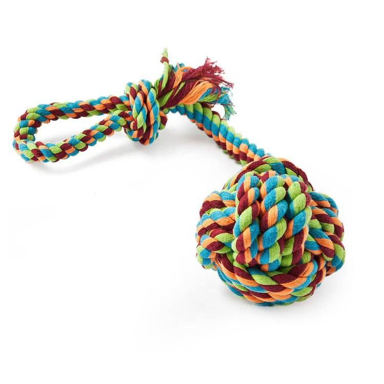 Freezack Rope Knot With Loop & Ball L