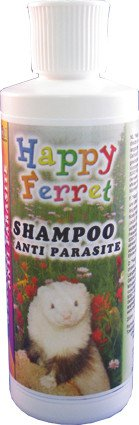 Happy Ferret Shampoo AntiParasiet - 200 ml.