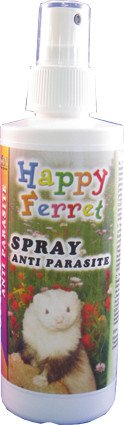 Happy Ferret Anti Parasite Spray - 200 ml.