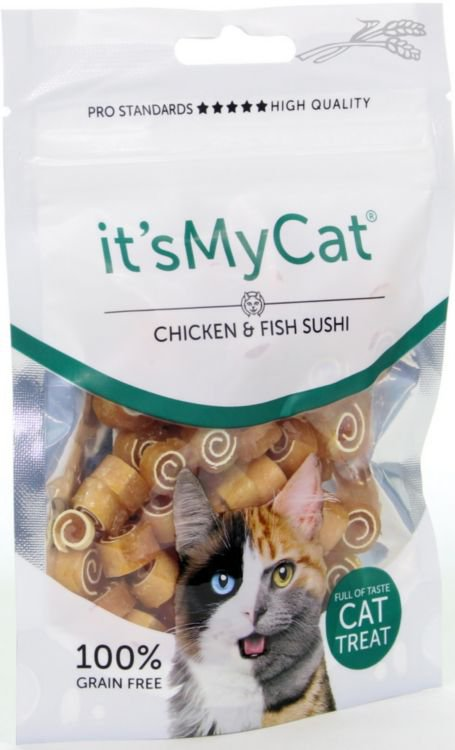 it\'s My Cat Chicken & Fish Sushi - 50 gr.